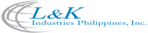 Welcome to L&K Industries Phils. Inc. Logo